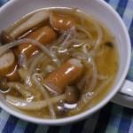 しめじとウィンナーのスープ〜洋風スープの作り方の基本をおさえよう!