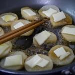 長芋のチーズステーキ〜長芋はフライパンで焼くとサクホクしておいしいでござるの巻