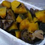 かぼちゃの煮つけ〜おふくろの味を他の料理と平行して作れるって素敵やん♪