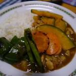 夏カレー〜夏野菜イロドリミドリ!焼き野菜あとのせサクサクでオシャレに仕上げよう♪( ´∀`)
