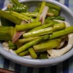 さばいたイカと余った野菜で南蛮漬けを作ってみる
