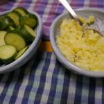 ポテトだけサラダ〜電子レンジで作るマッシュポテト♪(茹でじゃがのマヨネーズ和え)