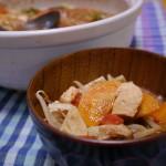 トマト鍋〜夏でもお鍋が食べたい!!ホールトマトと余った野菜で簡単に作っちゃいましょう♪