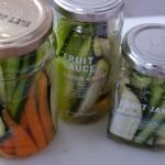 生野菜スティックの瓶詰め〜余った野菜を無駄なく消費!オシャレな瓶で浅漬しちゃお♪