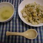 もやしチャーハン〜卵とご飯があればできる!余った野菜を刻んで炒めるだけの簡単料理♪