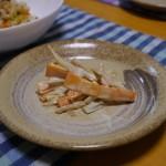 人参とごぼうの根菜サラダ〜めんつゆ×マヨの風味が絶品です!