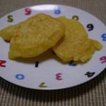 じゃがいものおやき〜すりおろしジャガイモと小麦粉と混ぜて焼くだけ!!
