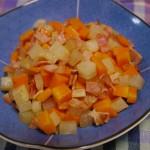 大根と人参のコロコロ炒め〜コロコロかわいい♪切って炒めるだけの簡単料理!