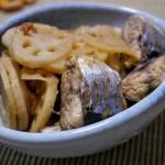 さんまとレンコンの梅生姜煮〜秋はお魚、ときどき味噌煮